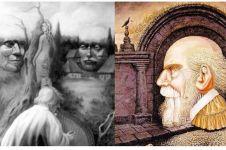 Jika temukan 6 wajah di tiap lukisan ini penglihatanmu terbukti tajam