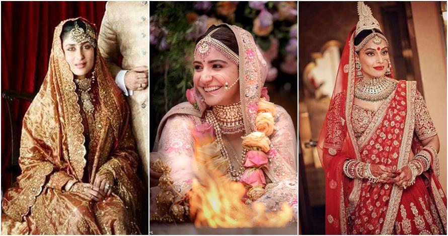 Penampilan 5 seleb Bollywood dengan gaun pengantin, elegan dan menawan
