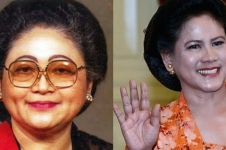 Potret 6 istri Presiden Indonesia saat memakai sanggul, anggun