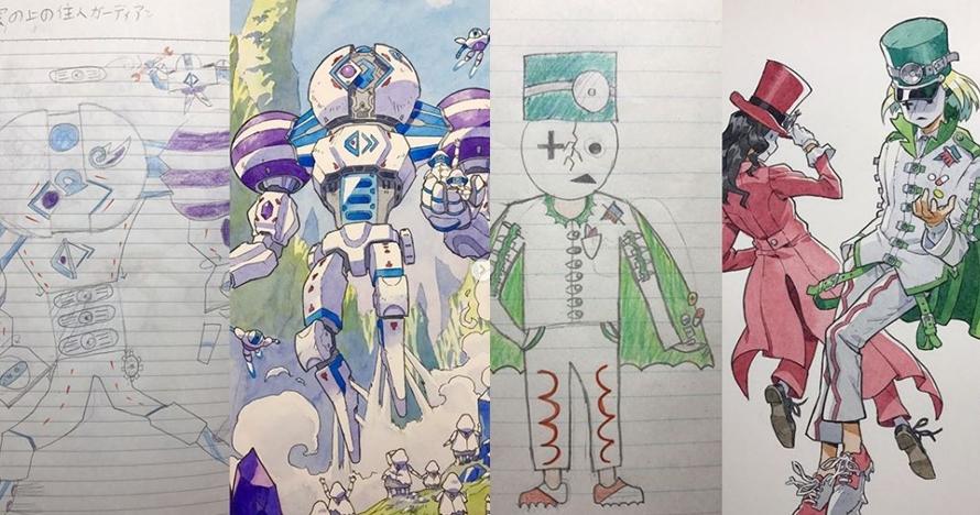 10 Coretan anak ini diubah jadi karakter anime, hasilnya keren