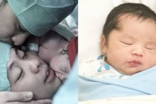 10 Foto anak ketiga Oki Setiana, cerita kelahirannya begitu menyentuh