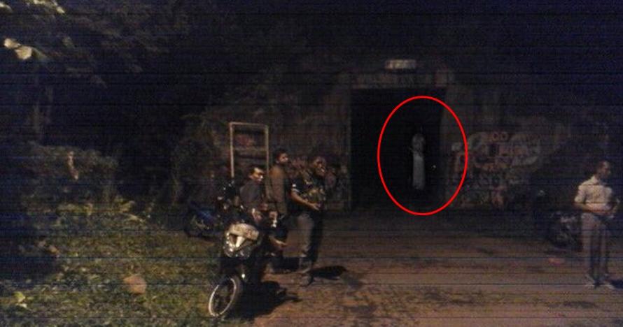 Penampakan sosok diduga penunggu terowongan di Jogja, bikin bergidik