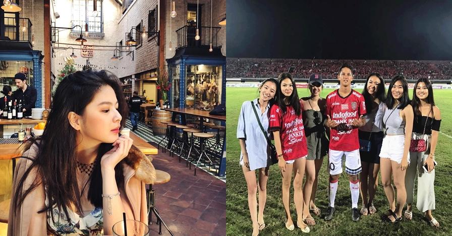 10 Pesona cantiknya Adel Tanuri, putri bos Bali United yang gila bola
