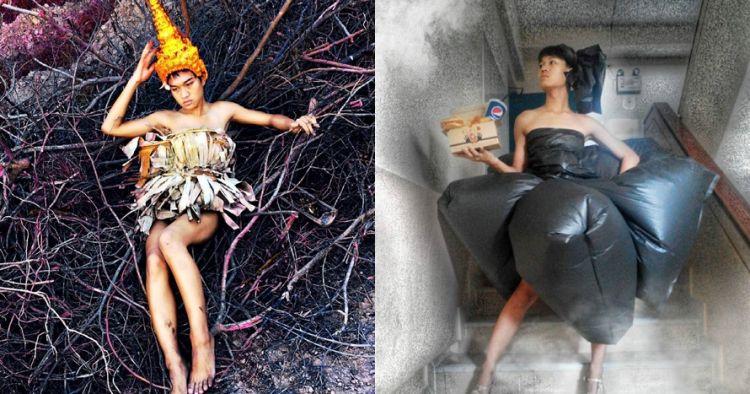 10 Gaya busana nyeleneh ala 'mimi peri'-nya Thailand, absurd abis