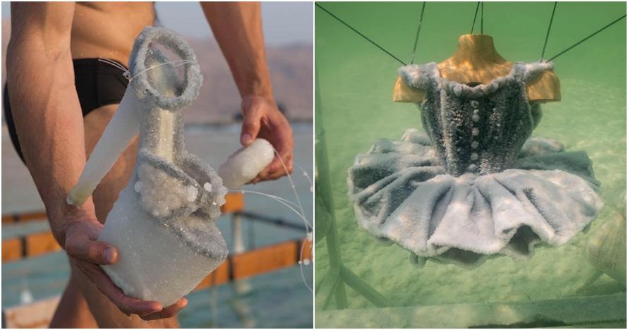 6 Benda ini direndam bertahun-tahun di Laut Mati, hasilnya bikin kaget