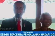 Ketemu dosen pembimbing, Jokowi teringat sulitnya bikin skripsi di UGM