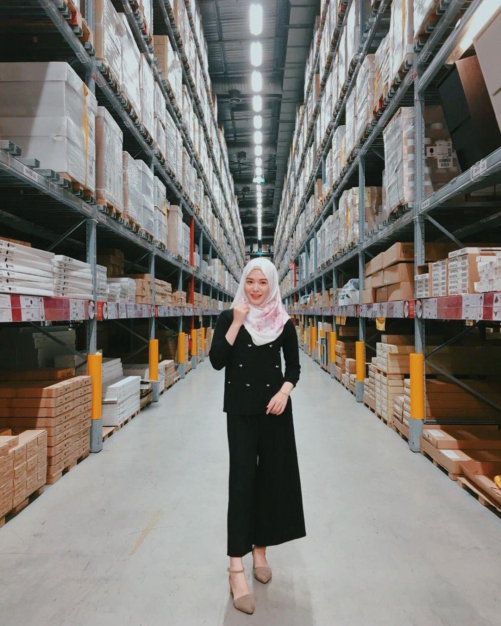 gaya hijab ayana  instagram.com/xolovelyayana