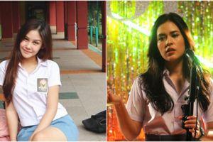 Gaya cantik 12 seleb Indonesia saat berseragam SMA, cute abis