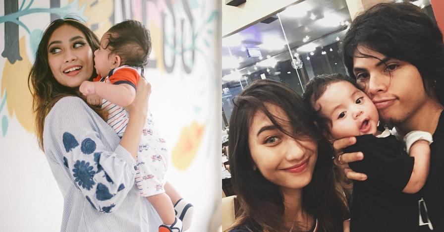 Akui nikah usai hamil duluan, begini potret Axel & Melody momong anak