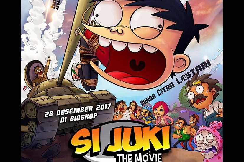 Si Juki The Movie siap membawa suasana baru bagi perfilman Indonesia