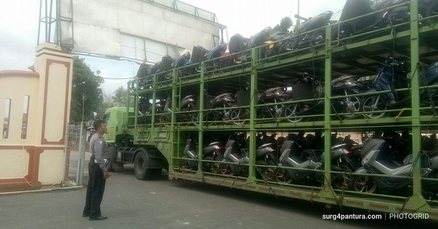 Sopir tertidur, saat bangun tiba-tiba truk nyasar di tempat tak wajar