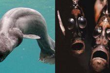 Penampakan 20 hewan dasar laut ini bikin merinding, serem abis