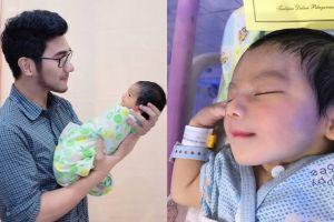10 Potret baby Arsya dan dokter Anton yang kegantengannya bikin heboh