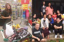 10 Momen Tamara Bleszynski peduli pengungsi Gunung Agung, bikin salut