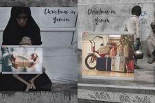 10 Karya billboard ini tunjukkan ironisnya momen Natal di Yaman