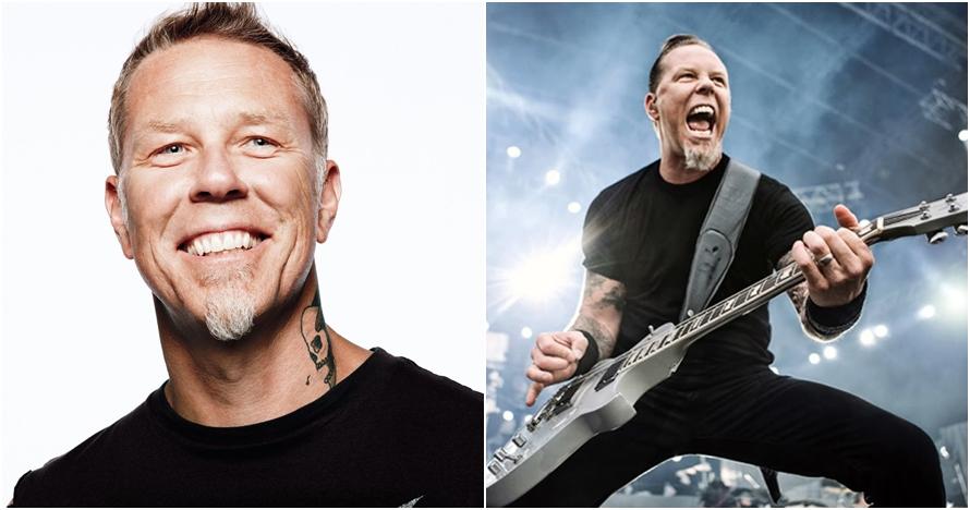 Sudah kepala lima, 10 aura keren vokalis Metallica ini tiada duanya