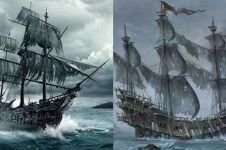 10 Kapal yang terkenal mistis di dunia, bikin merinding