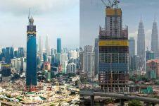 Tinggi hampir 500 meter, inikah gedung tertinggi di Asia Tenggara?