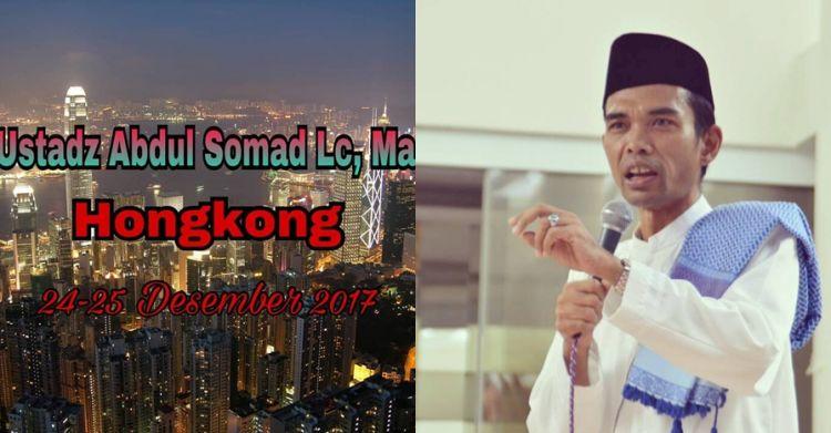 Ditolak masuk Hong Kong, begini klarifikasi Ustaz Abdul Somad