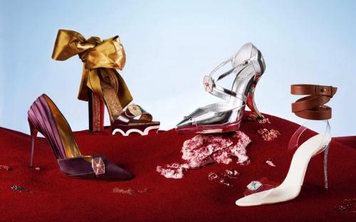4 High heels ini terinspirasi dari karakter  Star Wars: The Last Jedi