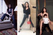 7 Pose menantang Jessica Iskandar, dikritik karena sering mengangkang