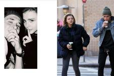 5 Momen romantis Brooklyn Beckham dan pasangan, pakai cincin couple