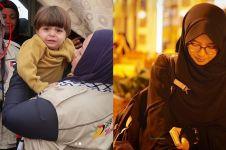 10 Gaya anggun Nabilah, hijaber teman Melly Goeslaw saat di Palestina