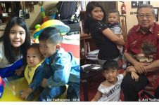 10 Momen akrab ketiga cucu SBY saat main bareng, akur banget