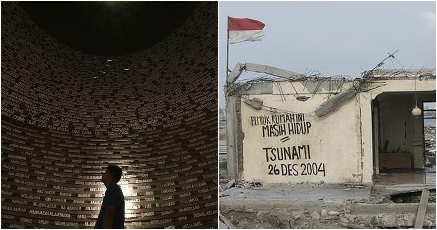 13 Tahun peringatan tsunami Aceh, 7 foto ini membuatmu turut terhanyut