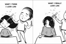 9 Ilustrasi ekspektasi vs realita kehidupan yang cuma dipahami cewek