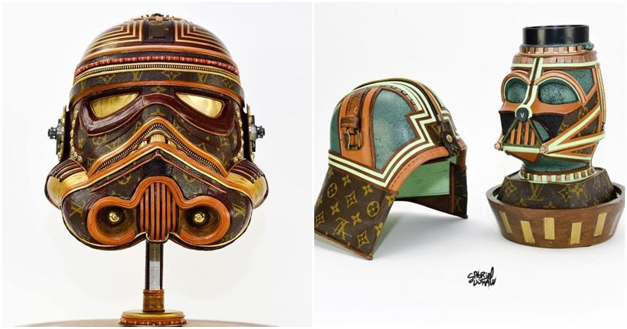 10 Kreasi daur ulang bertema Star Wars, bahannya tak kamu sangka