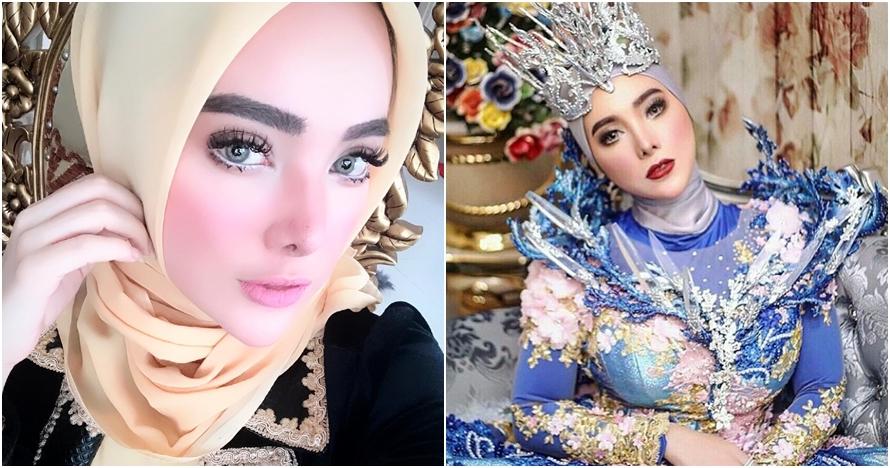 10 Gaya Devita Rusdi, eks model seksi yang kini jadi sosialita hijaber