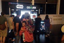 Demam Star Wars, booth GO-JEK di mal ini diserbu pengunjung