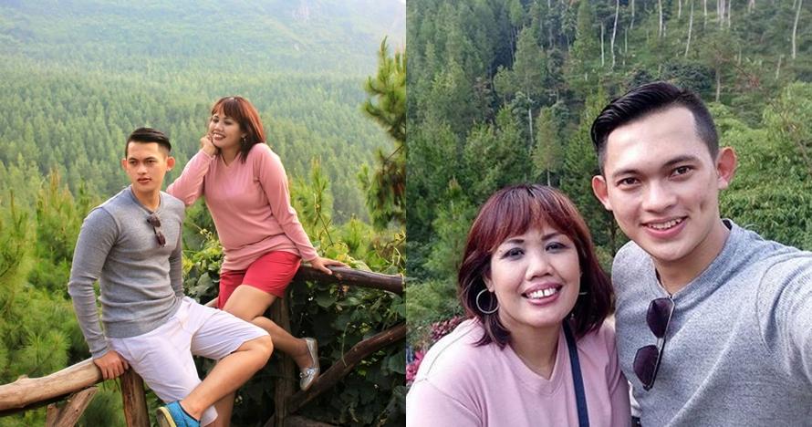 10 Momen seru liburan Ely Sugigi bareng berondong, dunia milik berdua