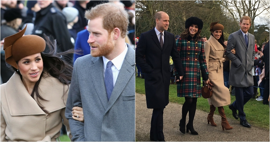 10 Potret Meghan Markle rayakan Natal bareng keluarga Kerajaan Inggris