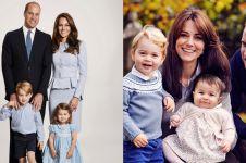 Ada yang aneh di kartu Natal keluarga Pangeran William, bisa temukan?