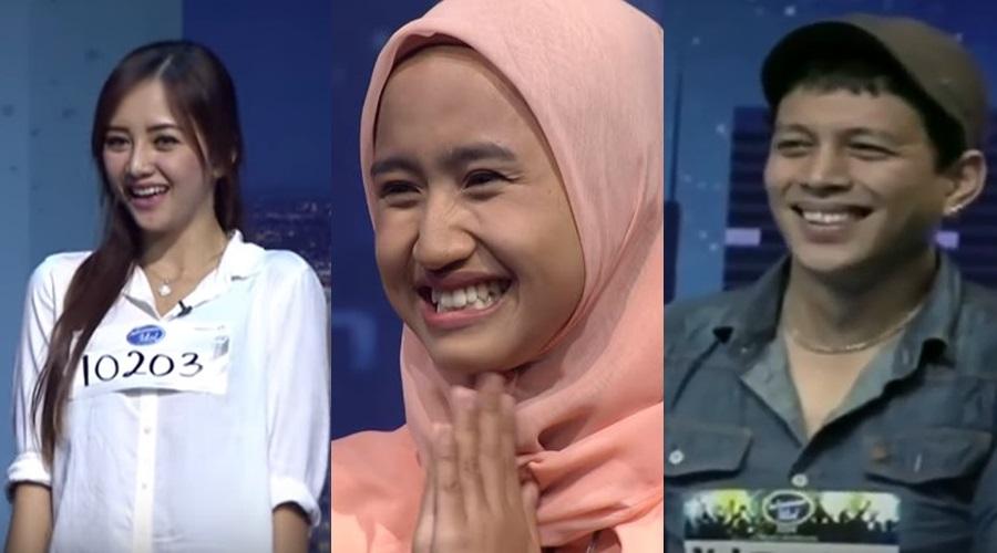 5 Kontestan audisi Indonesian Idol ini 'kembaran' penyanyi terkenal