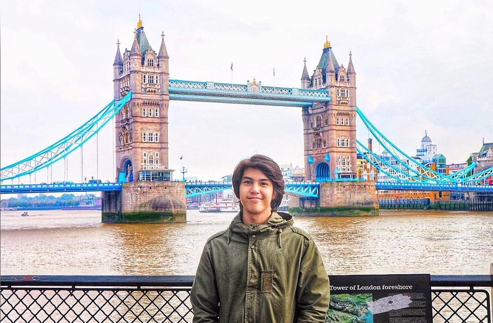 10 Seleb kuliah di luar negeri © 2017 Instagram