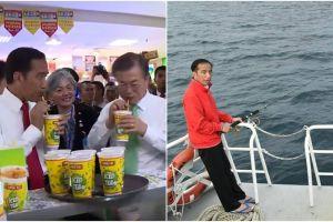 7 Momen Jokowi sukses curi perhatian di tahun 2017