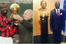Legenda AC Milan jadi presiden Liberia, ini 7 foto transformasinya