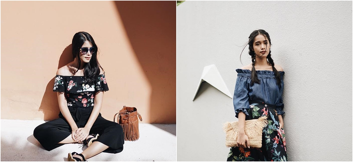 8 Mix and match floral print ala fashion influencer Ana Octarina