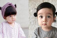 10 Potret Eri Fujie, balita yang bikin heboh karena keindahan matanya