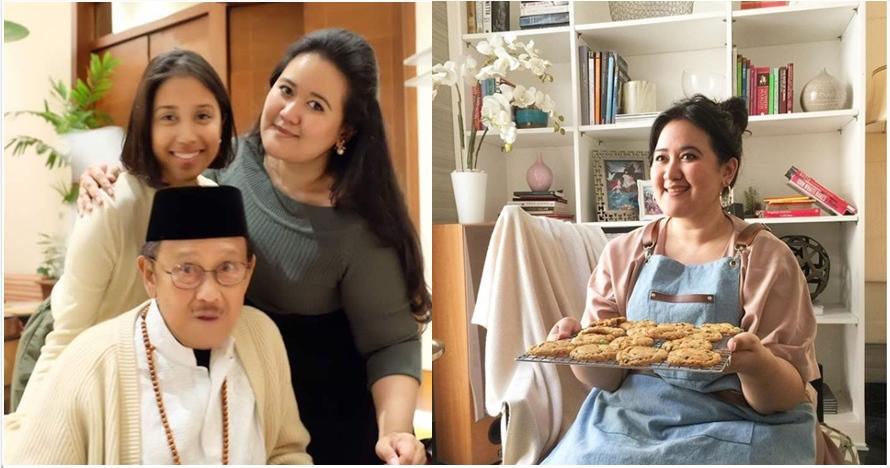 10 Potret cantik Marini Putri, cucu BJ Habibie yang jago masak