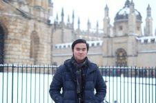 10 Foto kegiatan Samuel L Putra, anak Indonesia lulusan terbaik Oxford