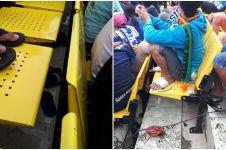 8 Foto kursi Stadion Citarum yang jadi sorotan, bikin gagal paham!