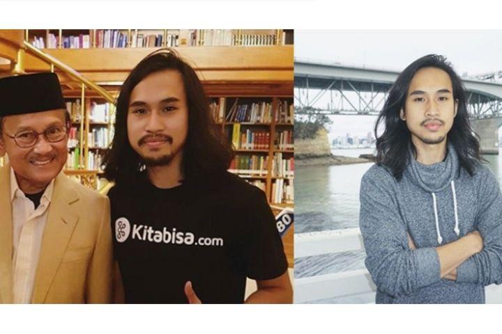 10 Potret Vikra Ijas, cowok macho pendiri web donasi Kitabisa