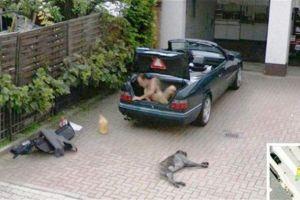 10 Aksi kejahatan ini tertangkap basah kamera Google Earth