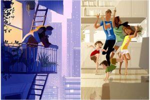 14 Ilustrasi kehidupan rumah tangga ini bikin perasaan campur aduk