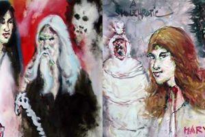 10 Lukisan hantu ini dijamin bikin bulu kuduk kamu berdiri