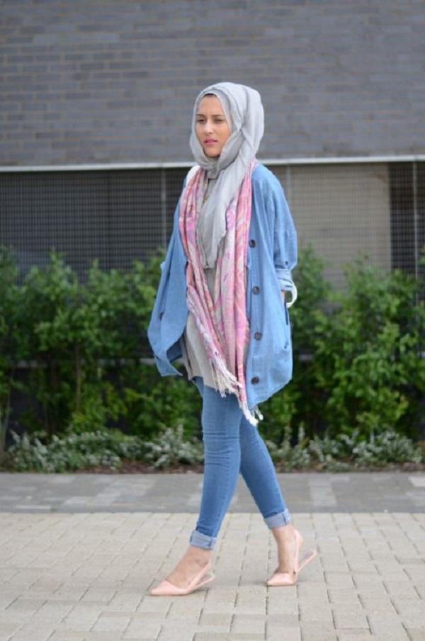 hijab jeans Istimewa